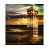 Tower In Italy Posters by  sattva_art