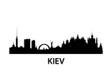 Skyline Kiev Prints by  unkreatives
