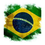 Flag Of Brazil Prints by  ilolab