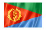 Eritrean Flag Plakater af daboost