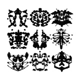 Nine Rorschach Test Art by  akova