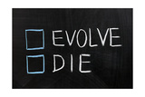 Evolve Or Die Prints by  Raywoo
