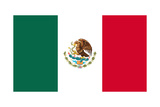Flag Of Mexico Poster by  mshch