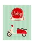 Vintage Bike Prints by vector pro