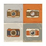 Camera Icons Prints by  YasnaTen