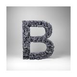 Letter B Art by  badboo