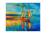 Sail Ship Kunstdrucke von Boyan Dimitrov