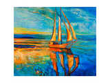 Sail Ship Print by Boyan Dimitrov