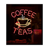 Coffee Sign Kunstdrucke von Chris Bradshaw