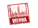 Vienna Stamp Poster by  radubalint