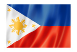 Philippines Flag Prints by  daboost