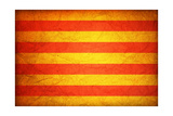 Flag Of Catalonia Prints by  michal812