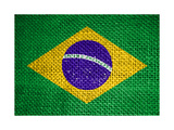 Flag Of Brazil Posters por  tony4urban