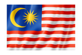 Malaysian Flag Posters by  daboost