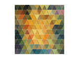 Triangles Pattern Poster by Maksim Krasnov