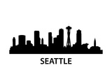 Skyline Seattle Posters by  unkreatives