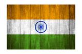 India Flag Prints by Miro Novak