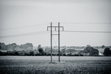 Pylon Wires Prints by  Sportactive