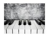 Piano Keys Schilderij van  alexroz