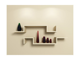 Modern Shelves Prints by  rukanoga