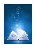 Magic Book Prints by  frenta