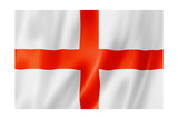 English Flag Reproduction giclée Premium par  daboost