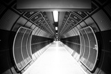 Cylindric Tunnel For Pedestrians, Monochrome Toned Prints by Jose AS Reyes
