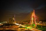Octavio Frias De Oliveira Bridge, Brazil Posters by  CelsoDiniz