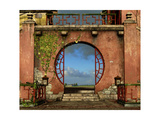 The Round Gate Poster by Atelier Sommerland