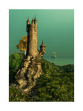 The Wizards Tower Prints by Atelier Sommerland