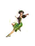 Springtime Maid Láminas por Atelier Sommerland