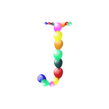 Balloon Letter Prints by Konovalov Pavel