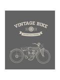 Vintage Bike Posters par vector pro