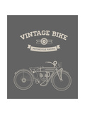 Vintage Bike Posters by vector pro
