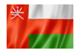 Oman Flag Posters by  daboost