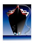 Ocean Liner Poster by  Nemosdad