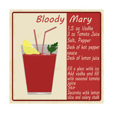Bloody Mary Cocktail Poster by  radubalint