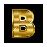 Letter B Prints by  Rudall30