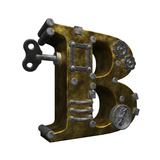 Steampunk Letter B Prints by  drizzd
