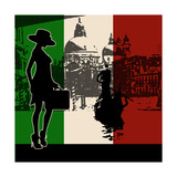 Italian Travel Flyer Prints by  Petrafler