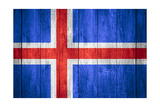 Flag Of Iceland Poster by Miro Novak