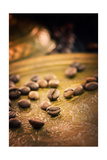 Coffe Beans Poster by  mythja