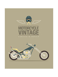 Vintage Bike Reprodukcje autor vector pro