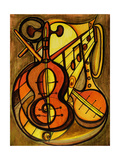 Musical Instruments Prints by  LoveliestDreams