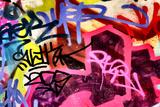 Harsh Graffiti Image Reproduction photographique par  sammyc