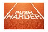 Push Harder Poster av igor stevanovic