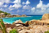 Amazing Seychelles With Unique Granite Rocks Posters by  Maugli-l
