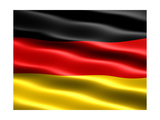 Flag Of Germany Posters av  Bestmoose