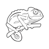 Chameleon Poster von  SignNSymbolProduction
