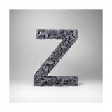 Letter Z Poster by  badboo